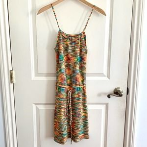 NEW 4SI3NNA Nordstrom Multicolor Marled Knit Dress